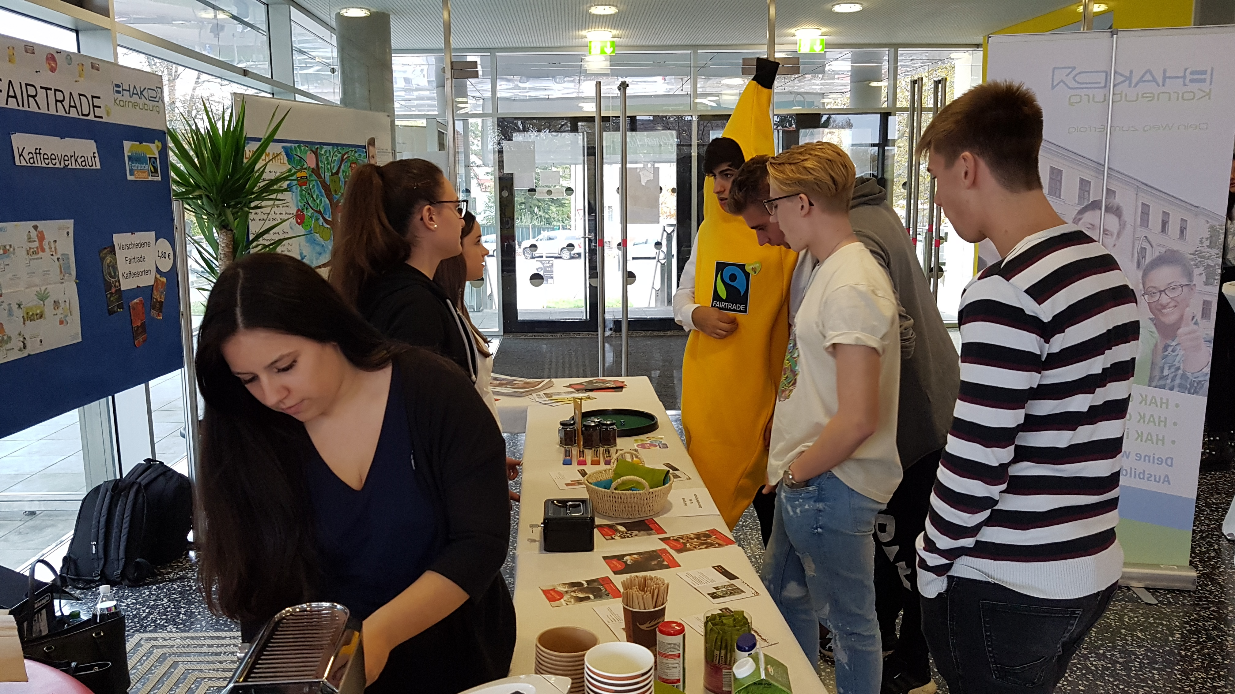 FAIRTRADE@School Kaffeestand